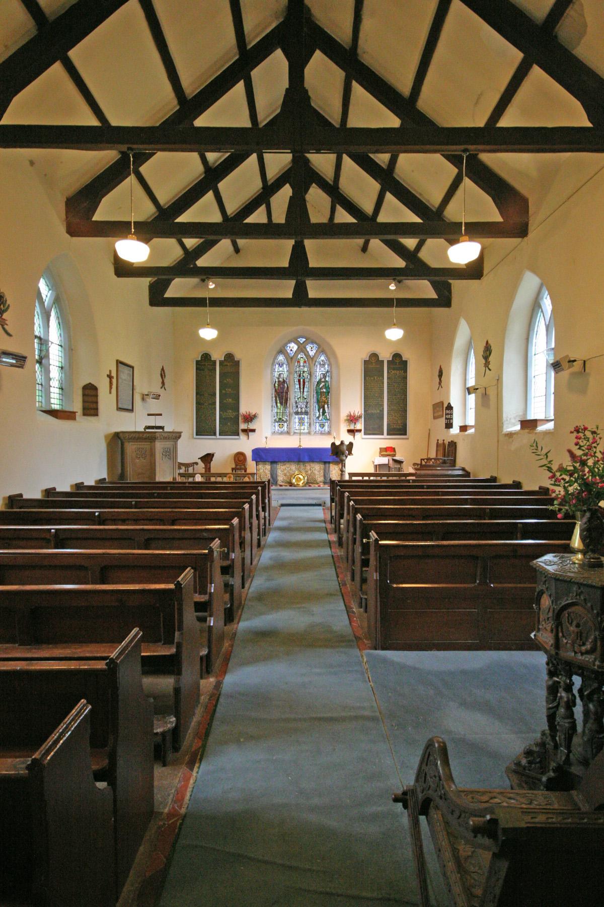 St John the Baptist, Ysbyty Cynfyn