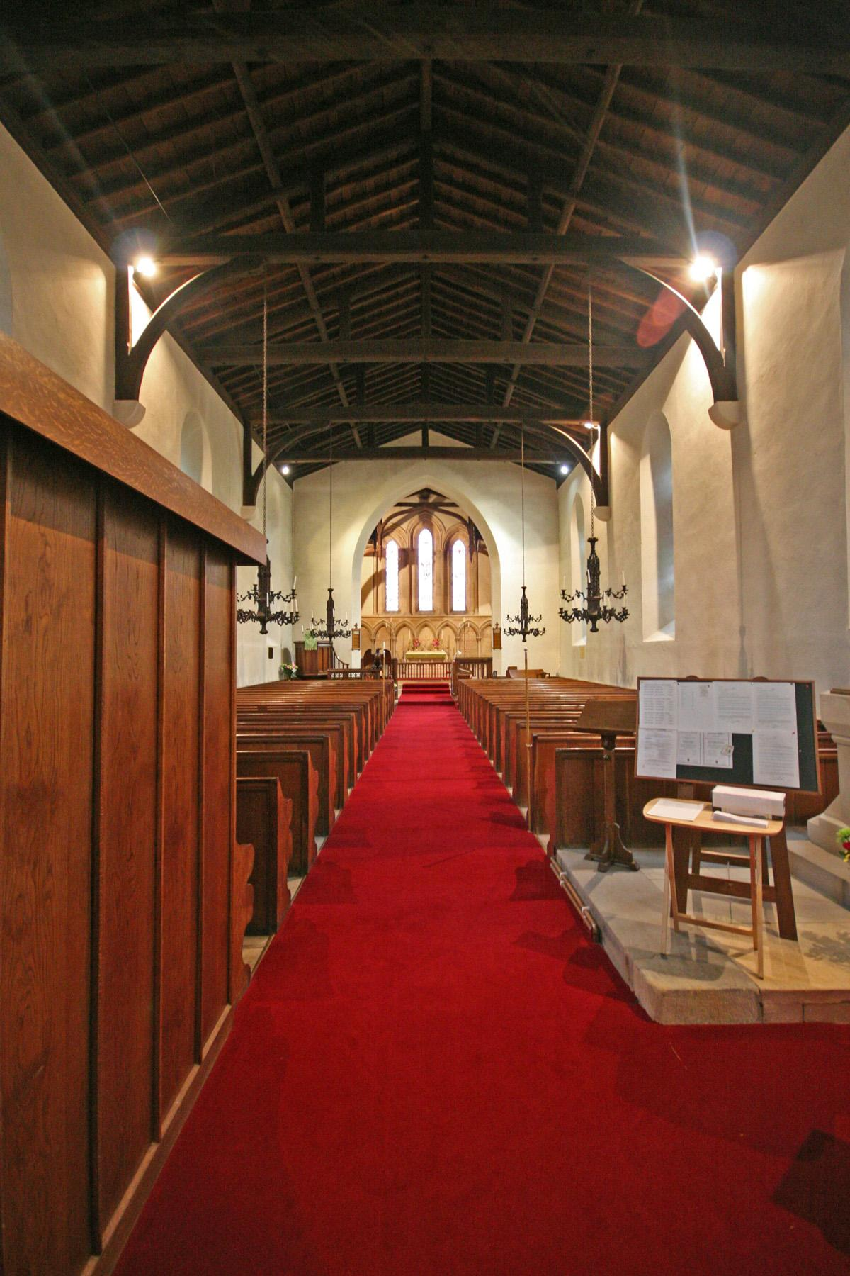 All Saints , Llangorwen
