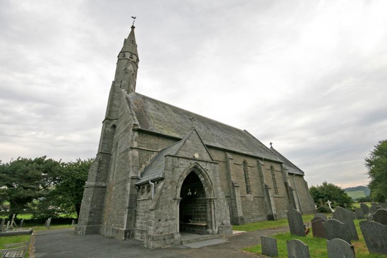 All Saints , Llangorwen