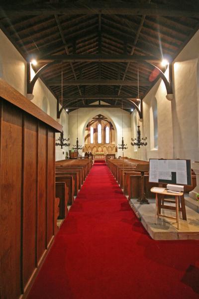 Eglwys yr Holl Seintiau, Llangorwen