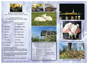 Bryngwyn Reflective Days page 2